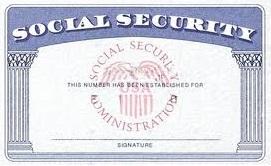 Social Security Number Social Security Number When To